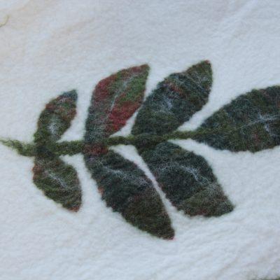 Walnotentblad, detailfoto 1