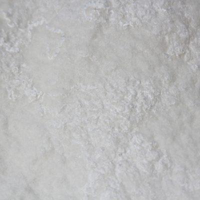 Witte zijde, detailfoto 2